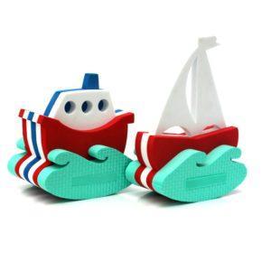 Игрушка-конструктор для купания – Кораблик - Парусник