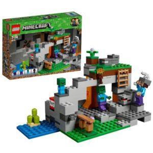 Конструктор LEGO Mineсraft (арт. 21141) «Пещера зомби»