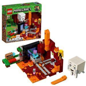 Конструктор LEGO Mineсraft (арт. 21143) «Портал в Подземелье»