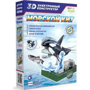 3D электронный конструктор ND Play «Морской кит» (арт. NDP-047)