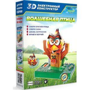 3D электронный конструктор ND Play «Волшебная птица» (арт. NDP-045)
