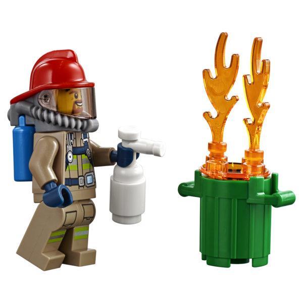 Конструктор LEGO City (арт. 60214) «Пожар в бургер-кафе»