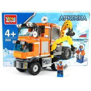 Конструктор «Арктика: вездеход-кран» (168 элементов)