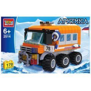 Конструктор «Арктика: Полярный вездеход» (170 элементов)