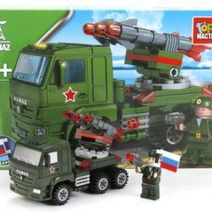 Конструктор «КамАЗ: ракетная установка» (108 элементов)