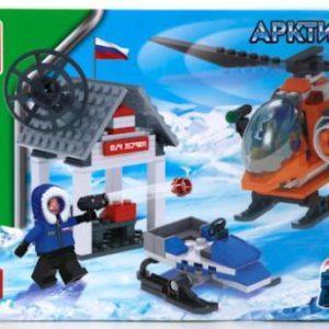 Конструктор «Нападение на арктическую базу» (244 элемента)