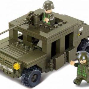 Конструктор Sluban «Военный автомобиль Hummer» (175 элементов, арт. M38-B0297)