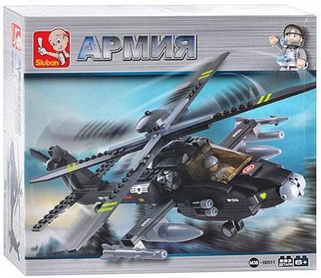 Конструктор SLUBAN Армия, Боевой вертолет 293 элемента