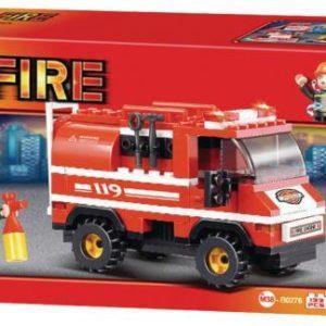 Конструктор SLUBAN Пожарные спасатели 133 элемента