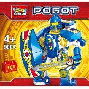 Конструктор Город мастеров Робот 100 элементов BL-9004-R