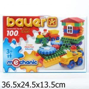 Конструктор Bauer Mechanic «Избушка» (100 элементов)