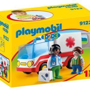 Игровой набор Playmobil «1.2.3: Скорая помощь» (арт. 9122)