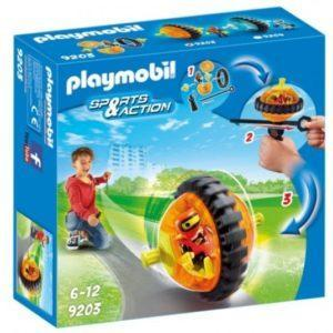 Игровой набор Playmobil «Оранжевый гонщик на роликах» (арт. 9203)