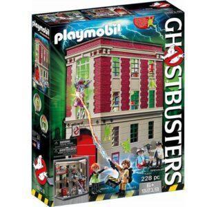 Игровой набор Playmobil «Охотник за привидениями: Здание пожарной службы» (арт. 9219)