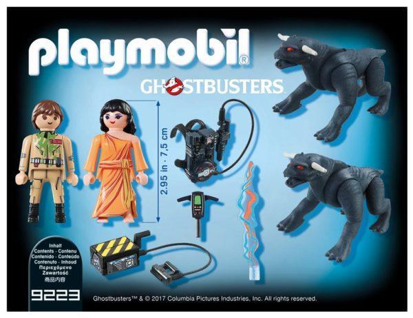 Игровой набор Playmobil «Охотник за привидениями: Питер Венкман и ужасные собаки» (арт. 9223)