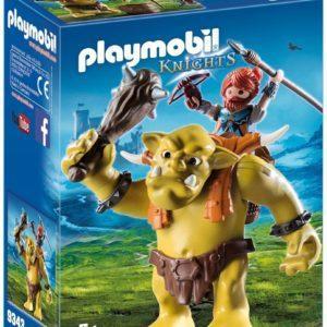 Игровой конструктор Playmobil «Рыцари: Гигантский тролль с боевым гномом» (арт. 9343)