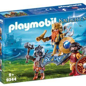 Игровой набор Playmobil «Рыцари: Король гномов с охраной» (арт. 9344)