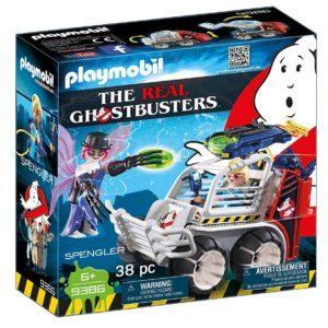 Игровой набор Playmobil «Охотники за привидениями: Спенглер с клеткой-автомобилем» (арт. 9386)