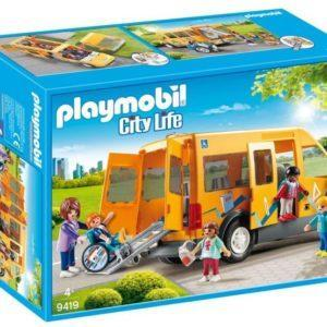 Игровой набор Playmobil «Снова в школу: Школьный автобус» (арт. 9419)