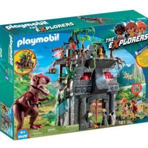 Игровой набор Playmobil «Динозавры: Затерянный храм с Тираннозавром» (арт. 9429)