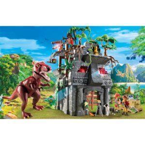 Игровой набор – Динозавры: Затерянный храм с Тираннозавром