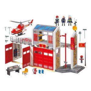 Игровой набор - Пожарная служба: Пожарная станция, звук