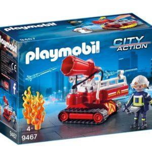 Игровой набор Playmobil «Пожарная служба: Пожарная машина с пенной пушкой» (арт. 9467)