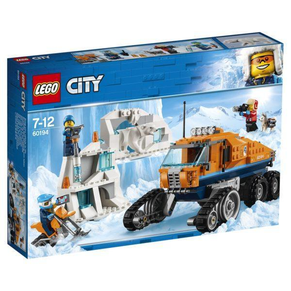 Конструктор LEGO City(арт. 60194) «Грузовик ледовой разведки»