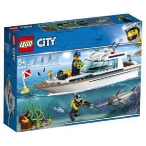 Конструктор LEGO City (арт. 60221) «Яхта для дайвинга»