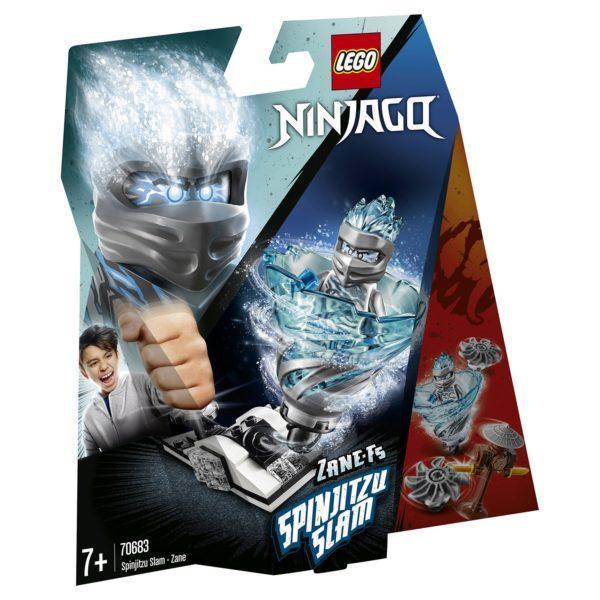 Конструктор LEGO Ninjago (арт. 70683) «Бой мастеров кружитцу — Зейн»