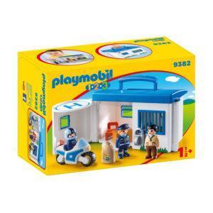 Конструктор Playmobil «1.2.3.: Полицейский участок» (арт. 9382)