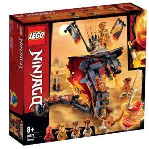 Конструктор LEGO Ninjago (арт. 70674) «Огненный кинжал»