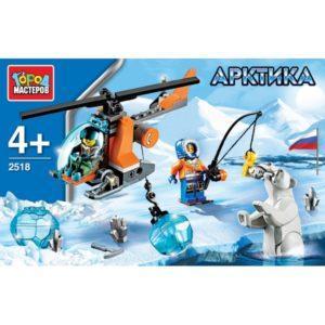 Конструктор из серии Арктика: Вертолет, 85 деталей