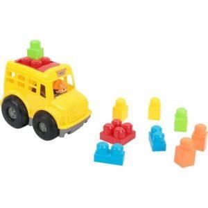 Блочный конструктор Игруша желтая машина