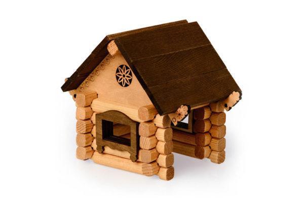 Деревянный конструктор – Изба