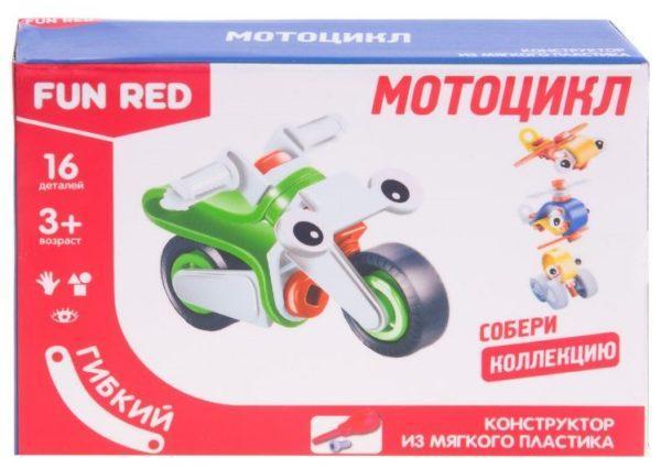 Гибкий конструктор – Мотоцикл, 16 деталей