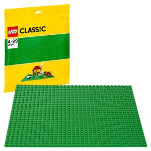 Конструктор LEGO Classic (арт. 10700) «Строительная зелёная пластина»