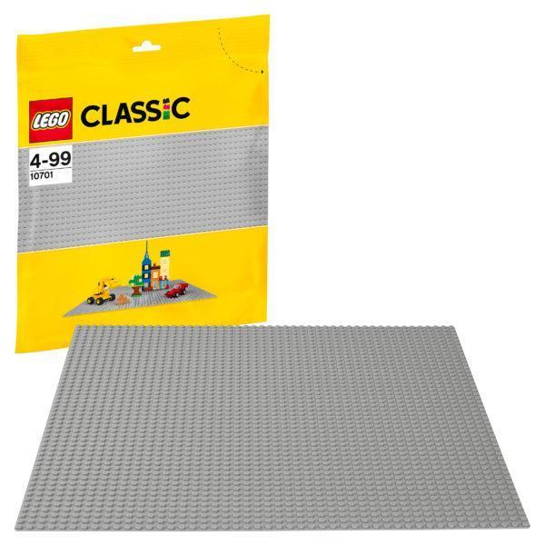 Конструктор LEGO Classic (арт. 10701) «Строительная пластина серого цвета»