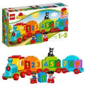 Конструктор LEGO Duplo (арт. 10847) Поезд «Считай и играй»