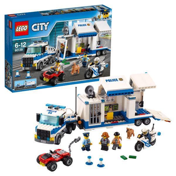 Конструктор LEGO City (арт. 60139) «Мобильный командный центр»