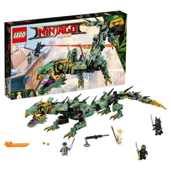 Конструктор LEGO Ninjago (арт. 70612) «Механический дракон Зелёного Ниндзя»