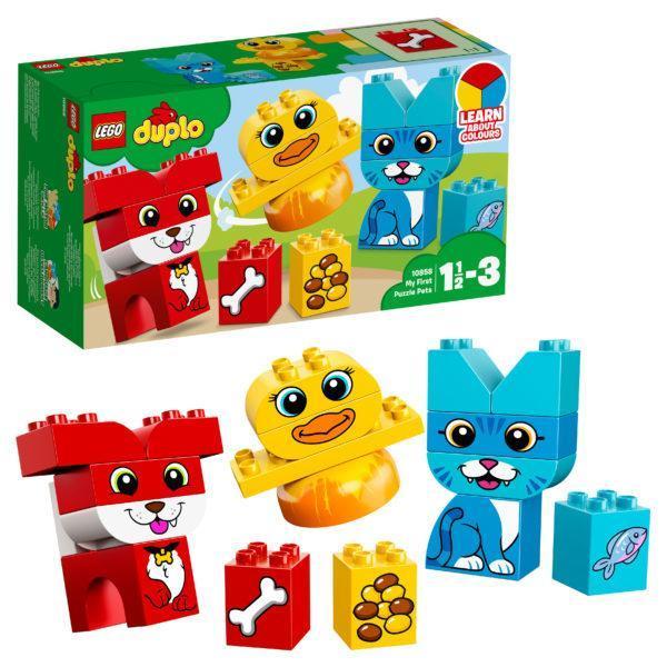 Конструктор LEGO Duplo (арт. 10858) «Мои первые домашние животные»