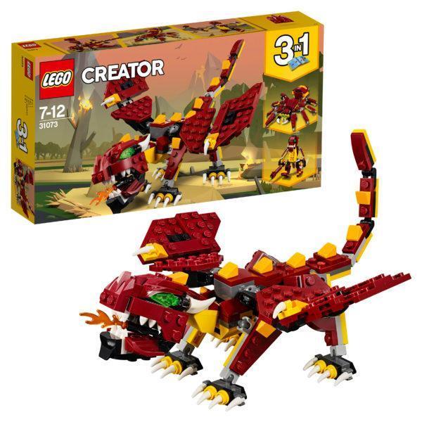 Конструктор LEGO Creator (арт. 31073) «Мифические существа»