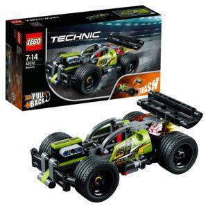 Конструктор LEGO Technic (арт. 42072) «Зелёный гоночный автомобиль»