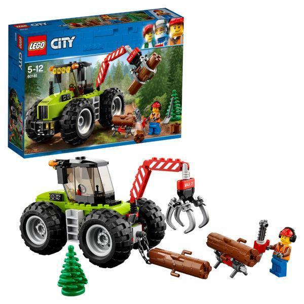 Конструктор LEGO City (арт. 60181) «Лесной трактор»
