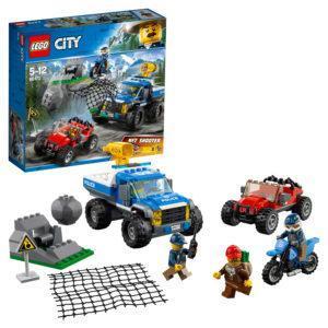 Конструктор LEGO City (арт. 60172) «Погоня по грунтовой дороге»