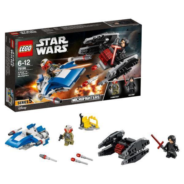 Конструктор LEGO Star Wars (арт. 75196) «Истребитель типа A против бесшумного истребителя СИД»