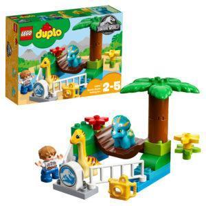 Конструктор LEGO Duplo (арт. 10879) «Парк динозавров»