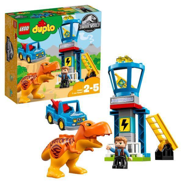 Конструктор LEGO Duplo (арт. 10880) «Башня Ти-Рекса»
