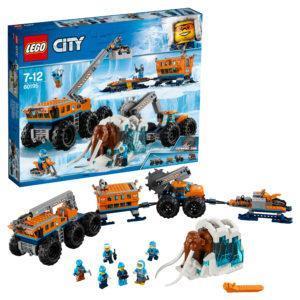 Конструктор LEGO City (арт. 60195) «Передвижная арктическая база»